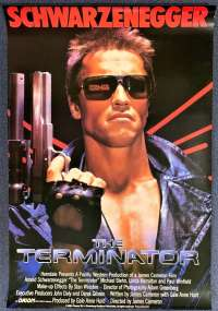 The Terminator Poster Original Rolled One Sheet Reprint Arnold Schwarzenegger
