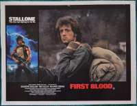 First Blood Lobby Poster Original 11x14 No.2 Sylvester Stallone Rambo