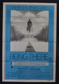 Being There 1979 One Sheet movie poster Peter Sellers Shirley MacClaine