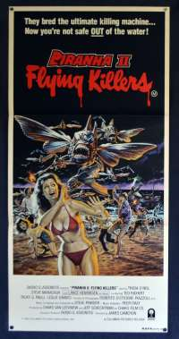 Piranha II Flying Killers 1981 James Cameron Daybill movie poster