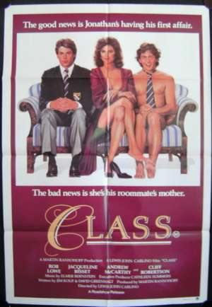 Class 1983 One Sheet movie poster Rob Lowe Andrew McCarthy
