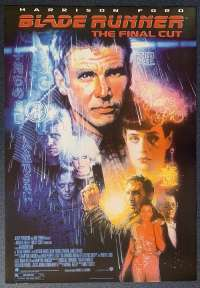 Blade Runner The Final Cut Poster Reprint 2007 Harrison Ford Ridley Scott