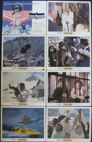Condorman Lobby Card Set USA 11x14 Michael Crawford Oliver Reed