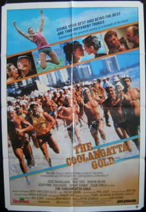 The Coolangatta Gold 1984 One Sheet movie poster Surfing Colin Friels